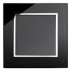 Black Glass Chrome TrimRetroTouch Crystal